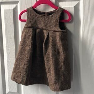 Gap herringbone confetti dress - 18-24 m